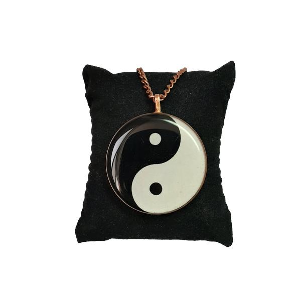 گردنبند مسی طرح Ying-Yang
