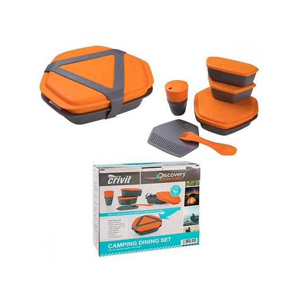 مجموعه ظروف سفری کرویت مدل Camping Set