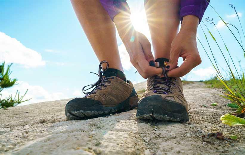 انواع کفش های کوهنوردی